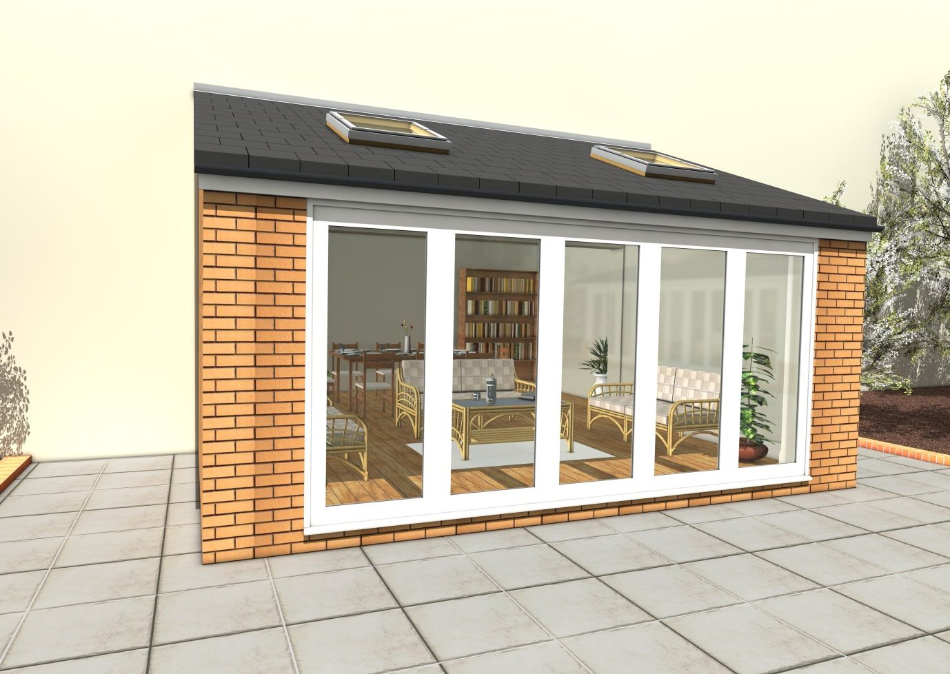 how to build a cheap house extension
