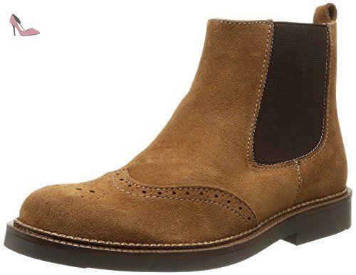Start Rite Marlow, Boots garçon - Marron (Tan Suede), 37 EU (4 UK) - Chaussures start rite (*Partner-Link)