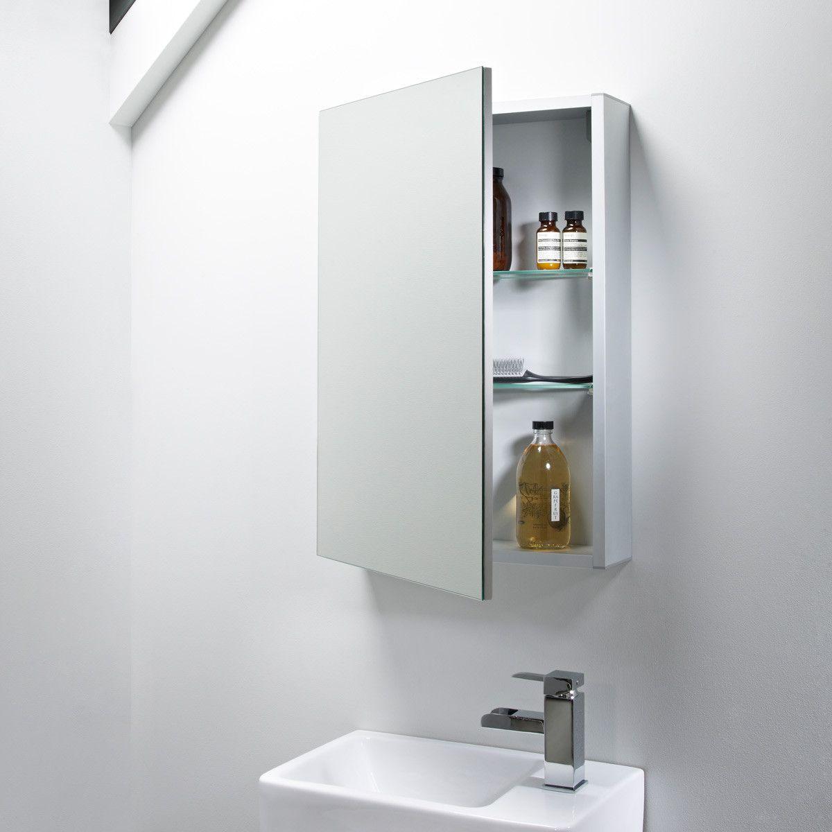 Tavistock Balance Single Door Mirror Cabinet 440 X 650mm