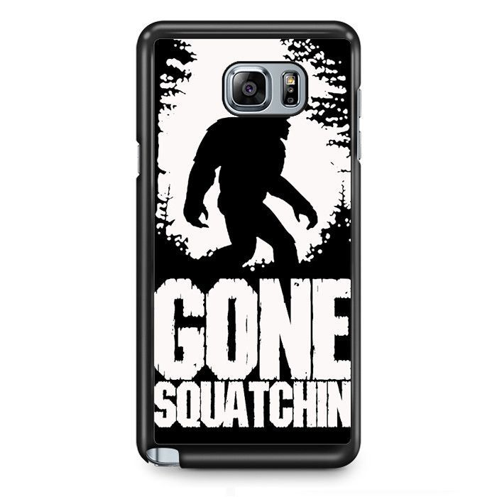 Gone Squatching TATUM-4770 Samsung Phonecase Cover Samsung Galaxy Note 2 Note 3 Note 4 Note 5 Note Edge