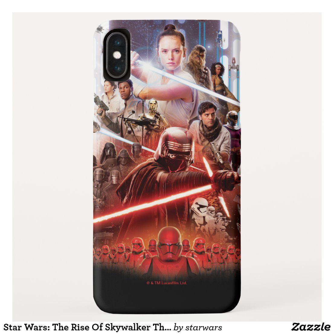 Star Wars: Der Aufstieg von Skywalker Theatrical Art Case-Mate iPhone Hülle | Zazzle.com   – Rise of SkyWalker. Officially Licensed. Shop w Sue