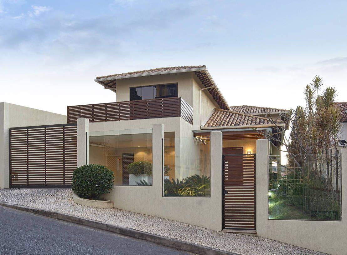 Por fora linda por dentro genial arquitetura for Casa moderna jardin d el menzah