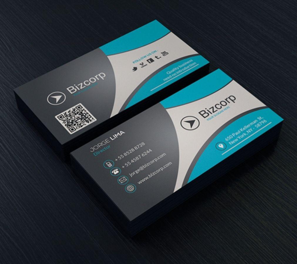 Best Business Card Layout Design In Verbindung Mit Business Card Design Vorlage Fur Word Als Auch Als Visitenkarten Moderne Visitenkarten Visitenkarten Design