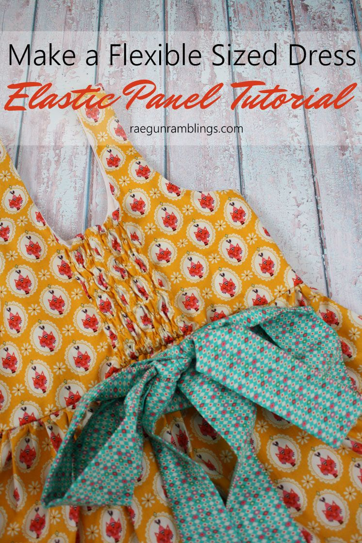 Elastic Back Panel Tutorial Sewing Fit Hack | Tipps und Nähen