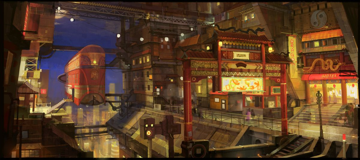 china town by molybdenumgp03.deviantart.com on @deviantART