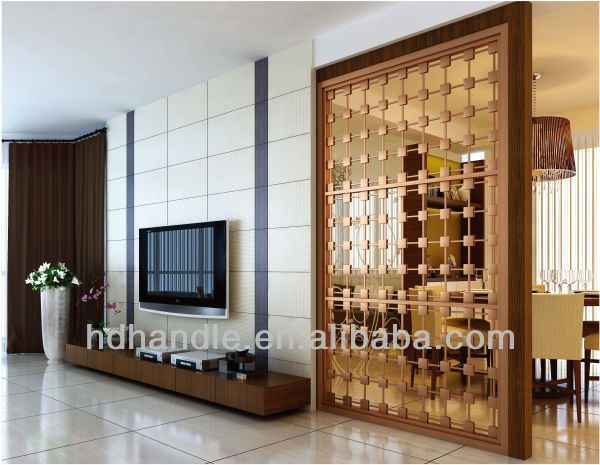 Stainless Steel Decorative Screen Living Room Divider Partition ...