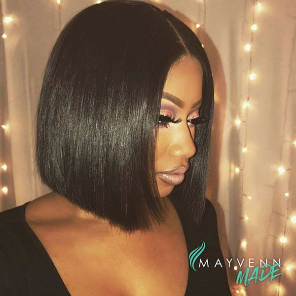 50 Best Bob Hairstyles For Black Women Pictures Bob Hairstyles Short Bob Hairstyles Black Women Hairstyles