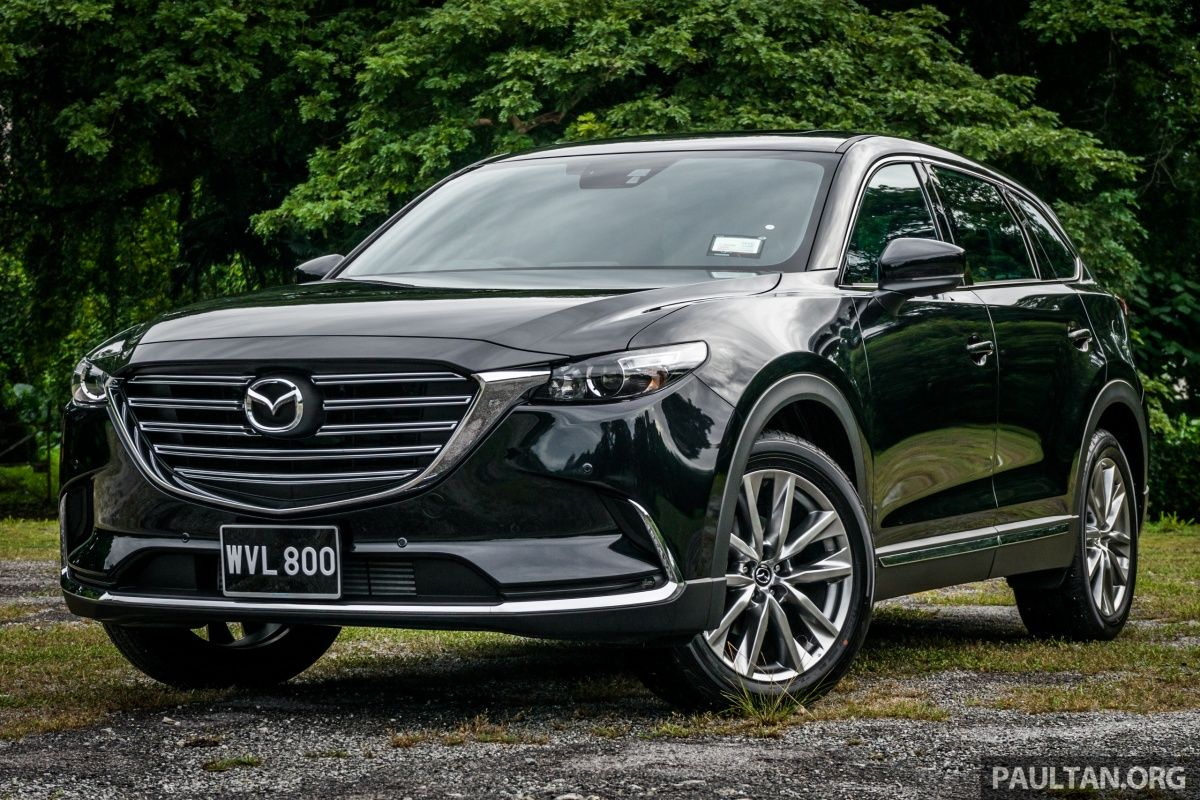 The New Mazda Cx 9 Was Previewed In November Last Year But It Only Slated To Make Its Proper Market Launch June However Due Por Demand Be
