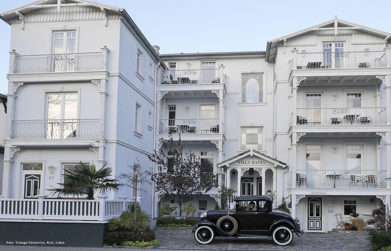 Villa Kiel ford a coupe 1930 vor villa hansa ein foto vom vintage