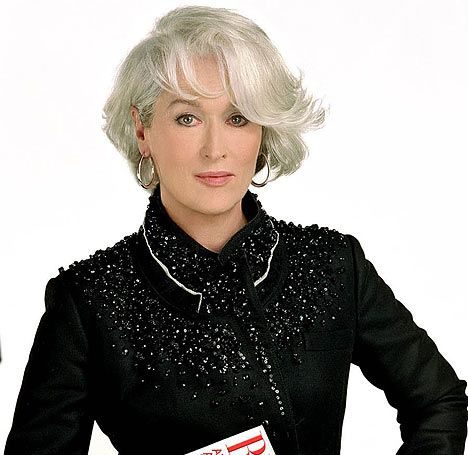 Meryl Streep Devil Wears Prada Hair Pinterest