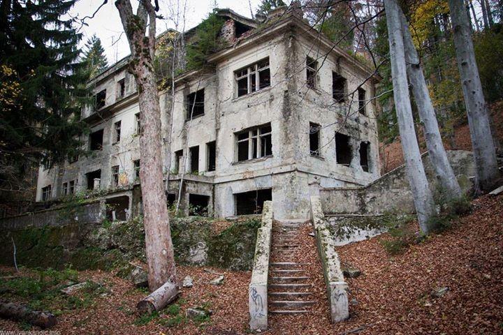 Abandoned Hospital Croatia Zagreb Croatia Zagreb Croatia