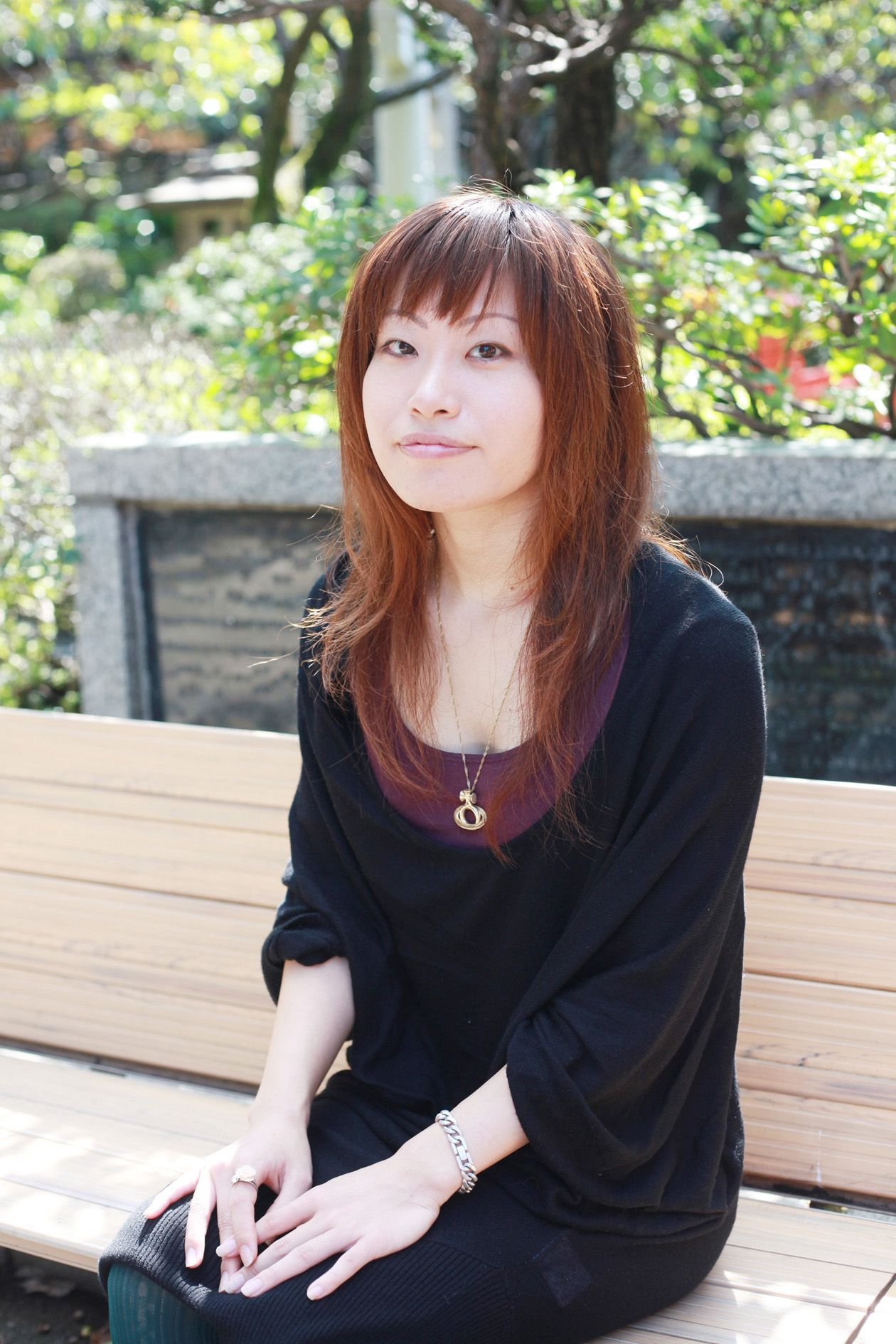 view of a women Asian