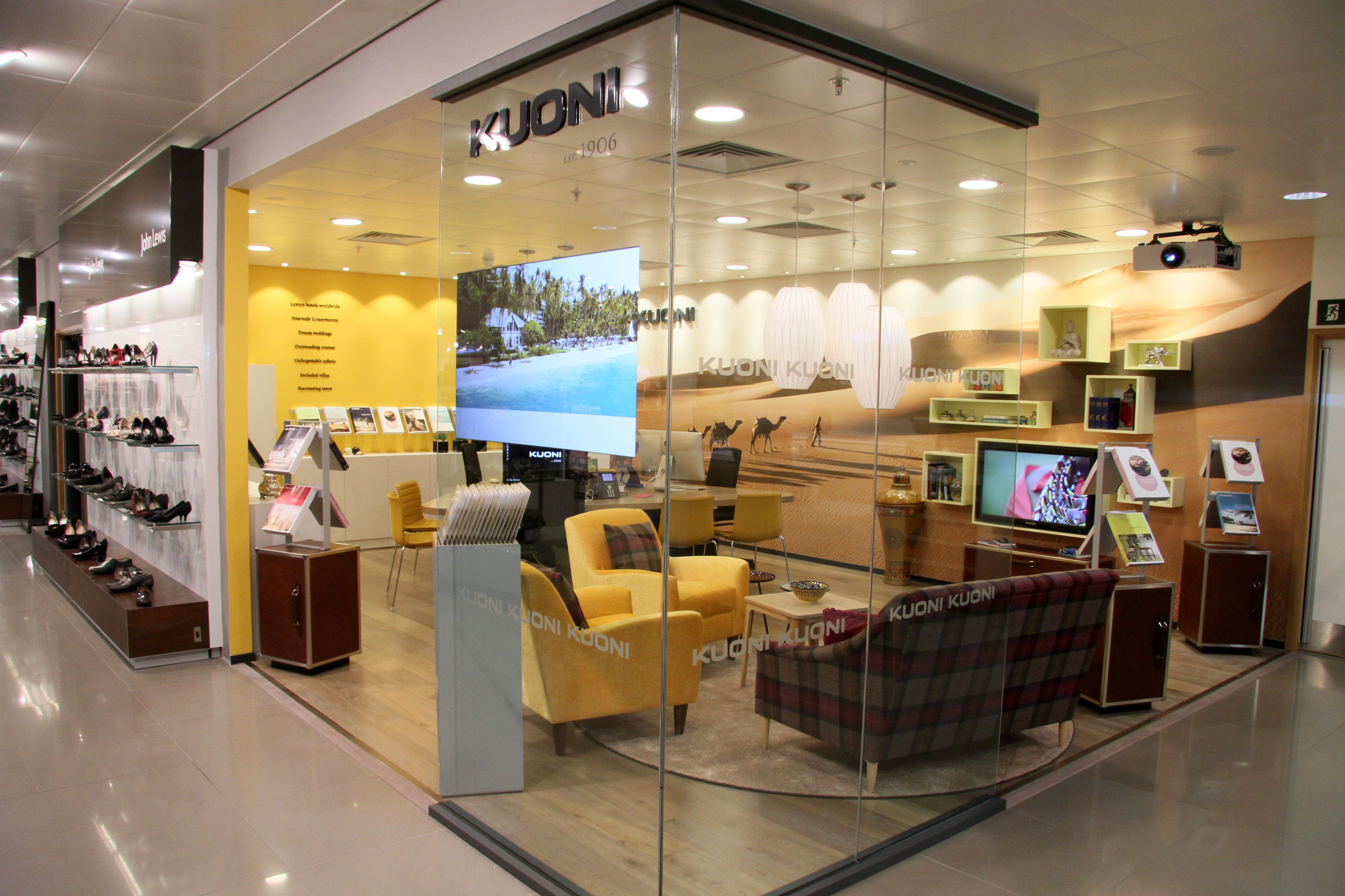 Plan your holiday at kuoni at john lewis cardiff travel for Office design cardiff