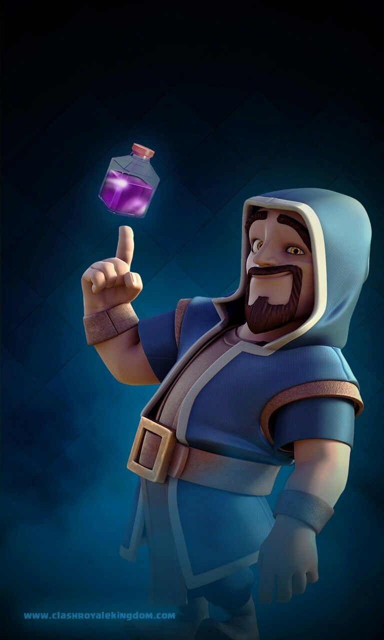 Mago Furia Destruccion Clash Royal Cartas Clash Royale Imagenes Clash Royale Dibujos