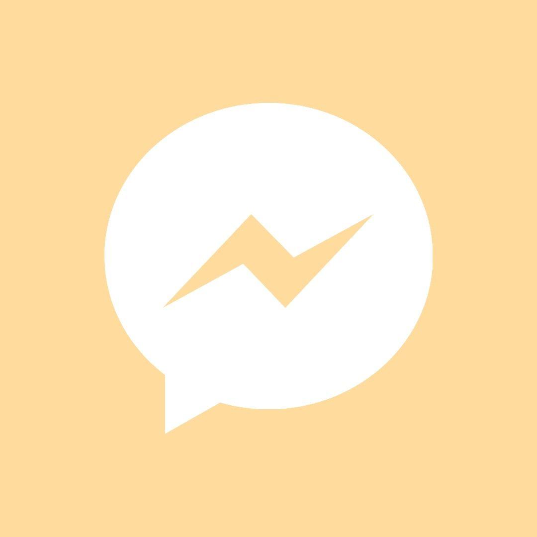 Messenger Icon For Ios 14 Iphone Photo App Ios App Icon Design App Icon Design