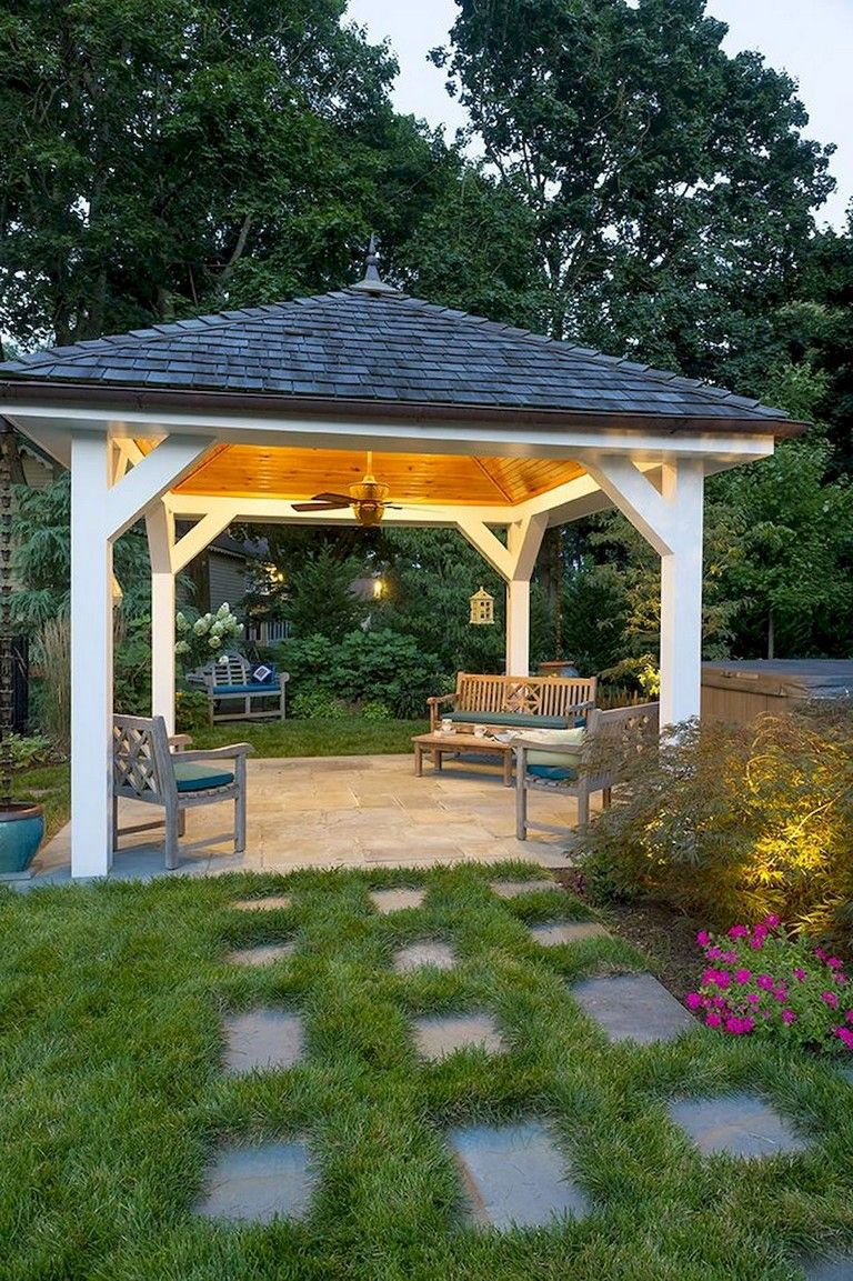 Cozy Outdoor Shed Floor Plans For Your Landscaping Backyard Pavilion Outdoor Pavilion Backyard Gazebo