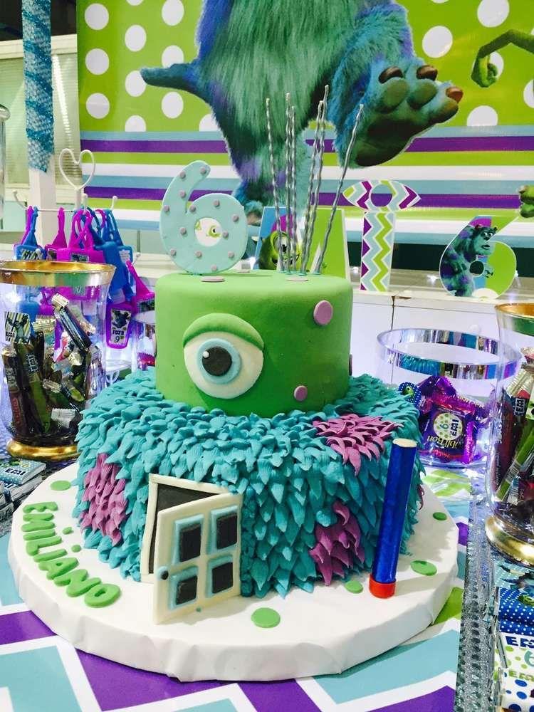 Monster inc birthday party ideas monster inc birthday