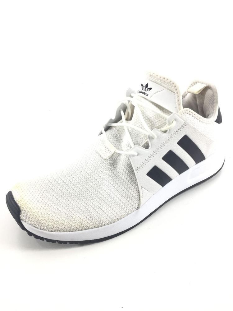 58 Adidas Originals X PLR White Mesh   Black Stripes Leather Running Shoe  Sz10.5  fashion  clothing  shoes  accessories  mensshoes  casualshoes  ad  (ebay ... 83c326a83