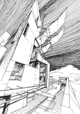 The Architecture Draftsman With Images Architecture Drawing Architecture Illustration Architecture Sketch