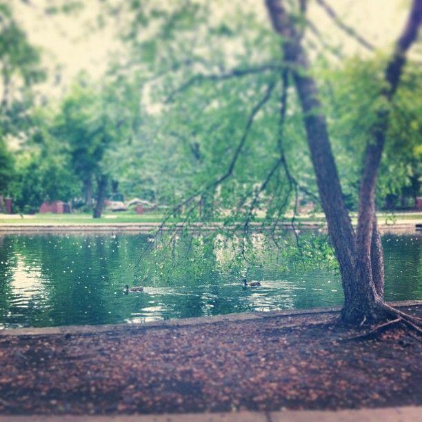 Loose Park in Kansas City, MO