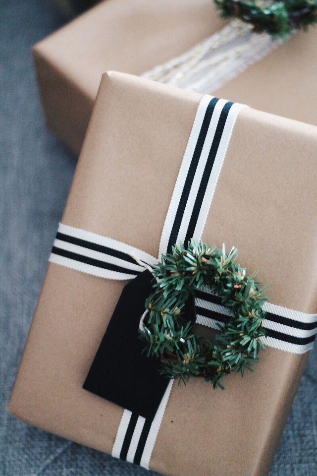 4 idées pour réaliser un joli emballage cadeau en papier kraft #emballagecadeauoriginal 4 jolies idées pour réaliser un emballage cadeau en papier kraft | Maison Allaert Blog #emballagecadeauoriginal