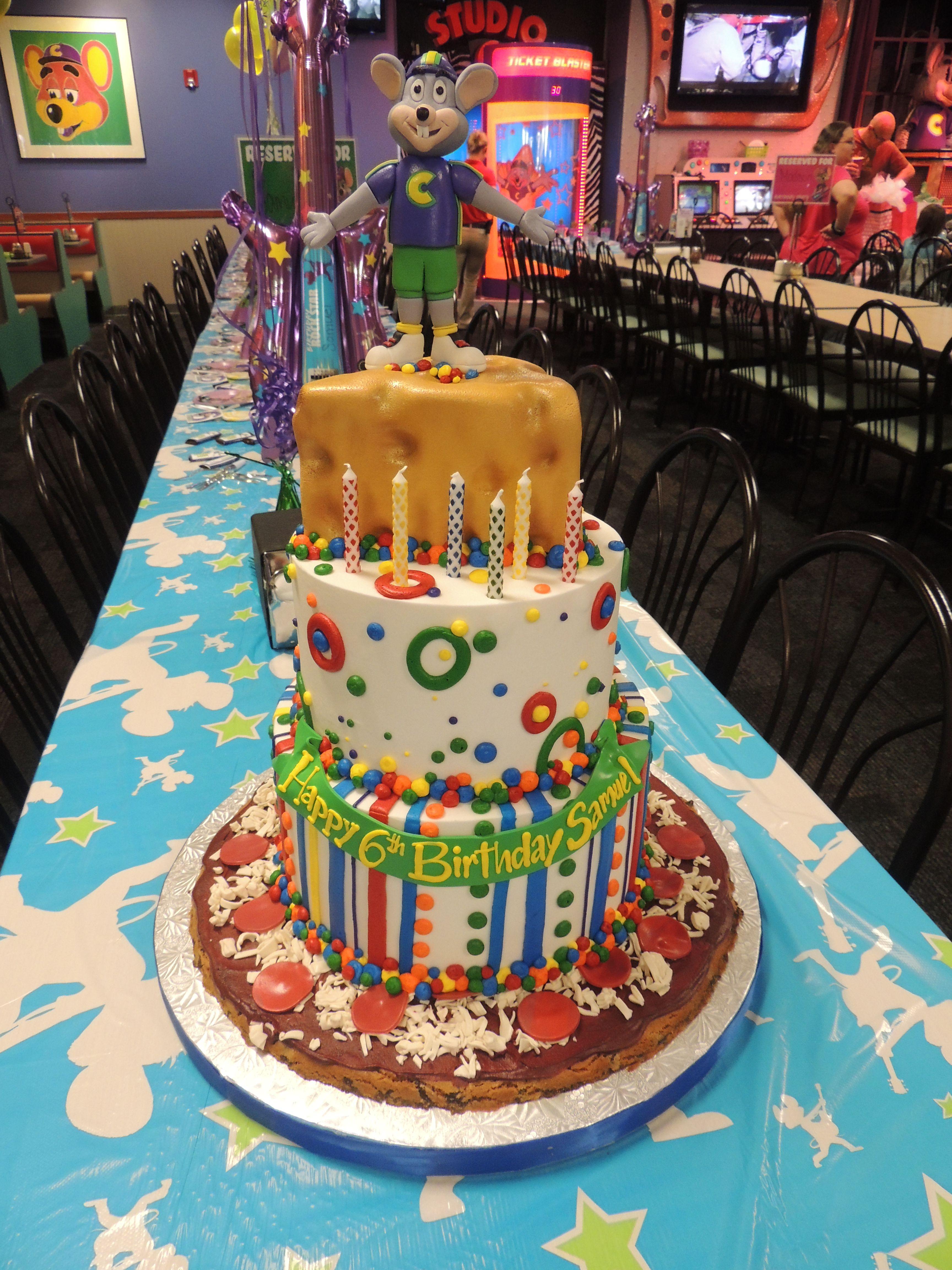 Chuck E Cheese Birthday Cake Chuck E Cheese Birthday Chuck E