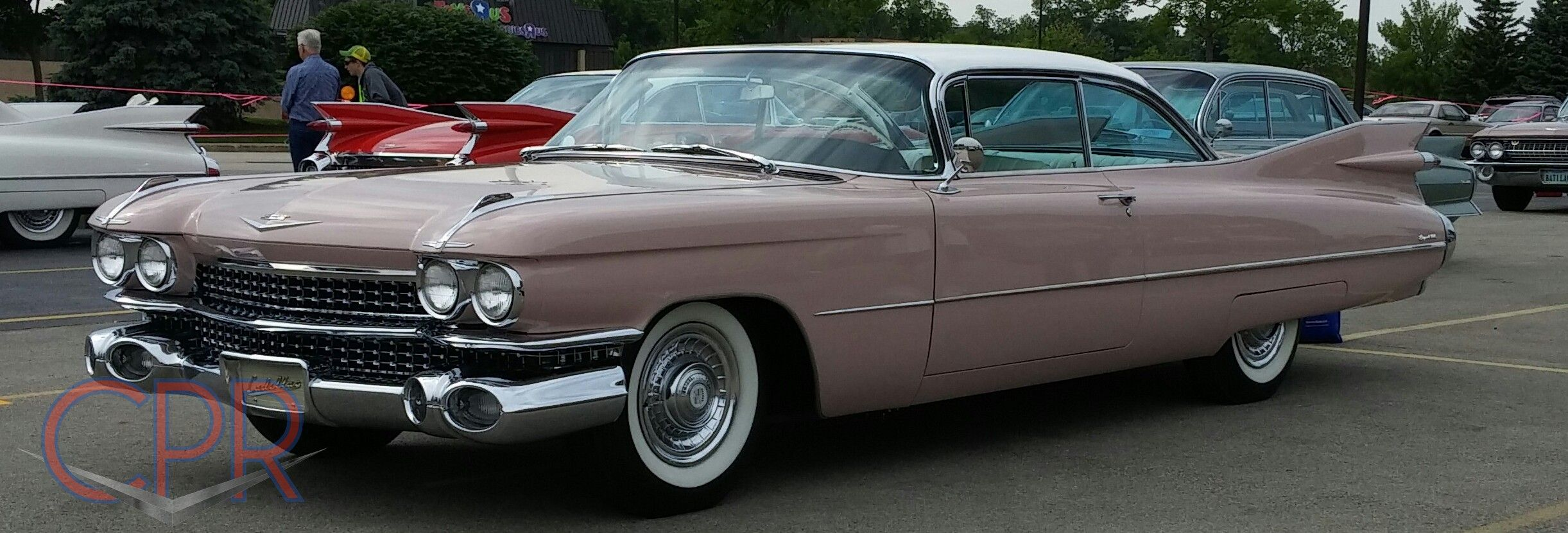 Very sweet 1959 Cadillac Coupe deVille at the 2015 Cadillac