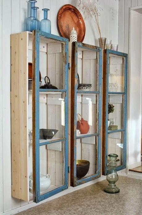 Manualidades con ventanas viejas buscar con google for Manualidades con puertas viejas