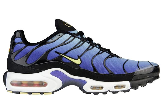 Nike Air Max Plus (Tuned 1) Hyper Blue. Loved these sneaks back in the day.  Just grabbed a pair the other day from Champs on re-release! c39dd52684