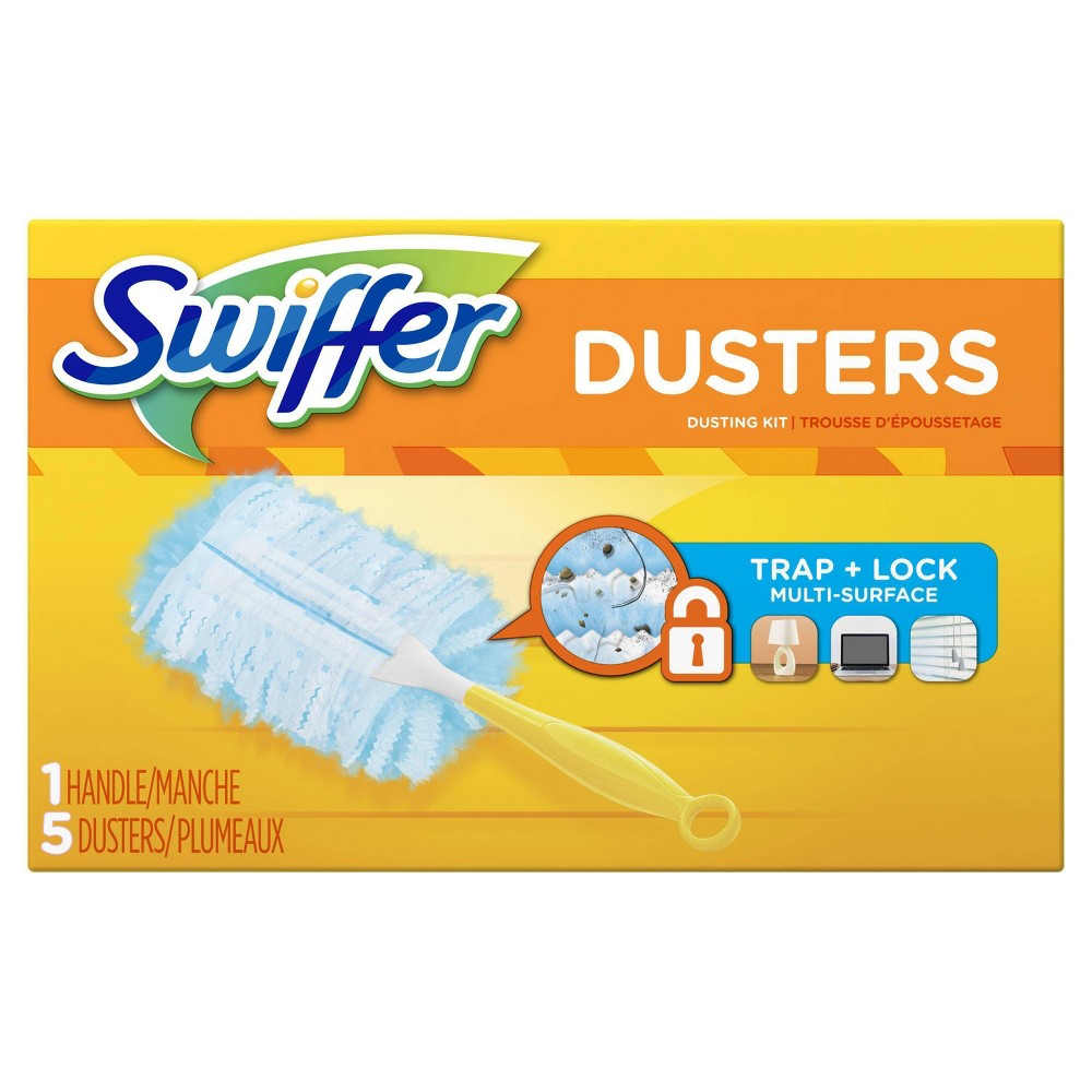Swiffer 180 Dusters Starter Kit Unscented 5ct Products In 2019 Dusters Swiffer Refill Starter Kit