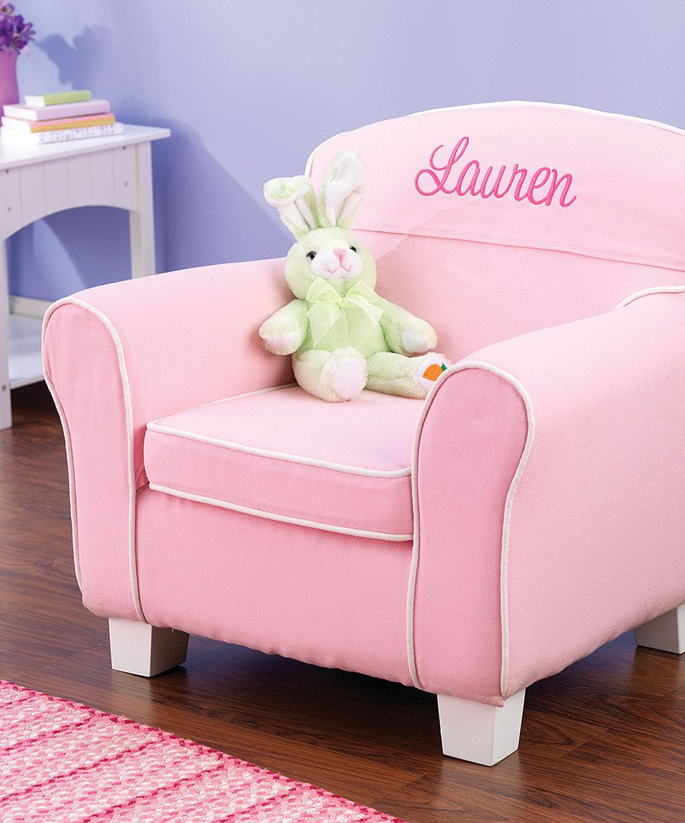 Pink Laguna Personalized Chair Personalized Kids Chair Toddler Chair Personalized Chairs