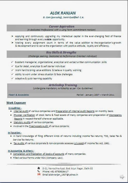 Biodata Pdf Sample Template Example OfExcellent Curriculum Vitae / Resume / CV  Format With Career Objective