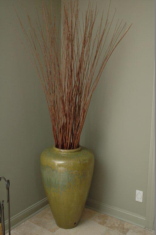 Decorative Floor Vases Mache Pots Modern Floral Arrangements And