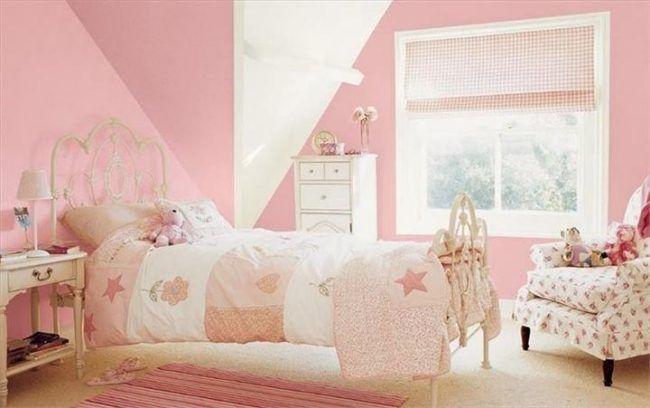 Wohnideen Schlafzimmer Mädchen zartrosa vintage wohnideen für kinderzimmer für mädchen