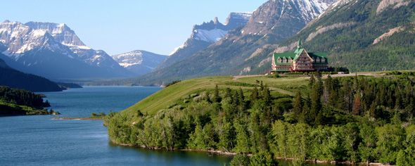 Parks Canada Waterton Lakes National Park Prince Of Wales Hotel Historic Site In