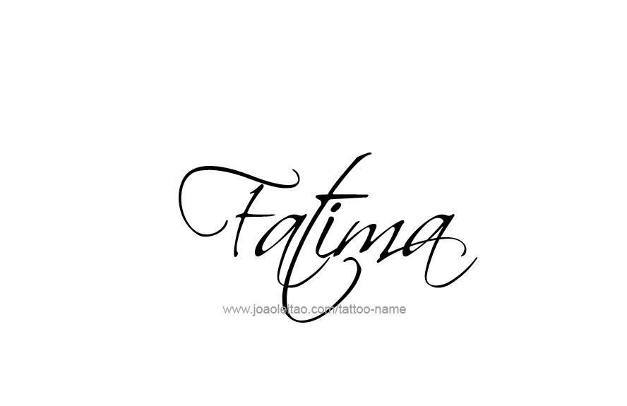 Fatima Name Tattoo Designs Name Tattoo Designs Name Wallpaper Tattoo Designs