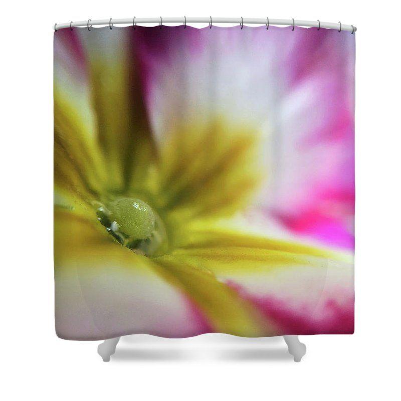 Porcelain Shower Curtain For Sale By Michael Van Huffel Flower