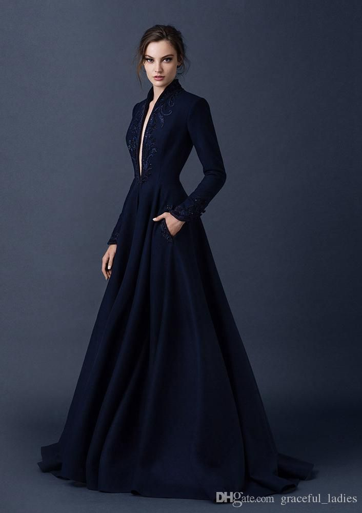 47ae4198 Show your best to all people even in the evening and then get Navy Blue  Satin