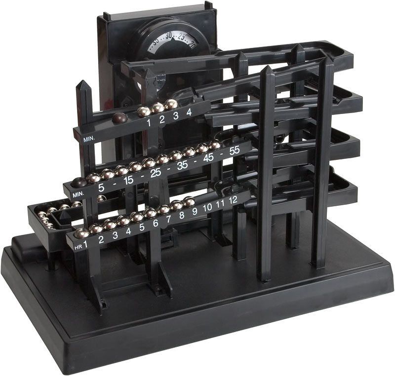 Image Result For The Time Machine Tabletop Rolling Marble Clock
