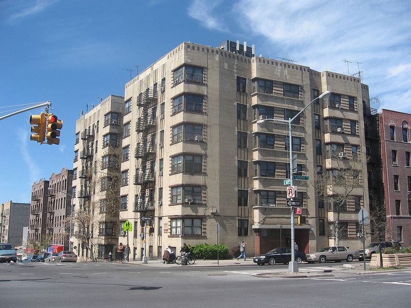 Art Deco Apartment Building The Sagamore 1295 Grand Concourse At 169th Street Bronx 1939