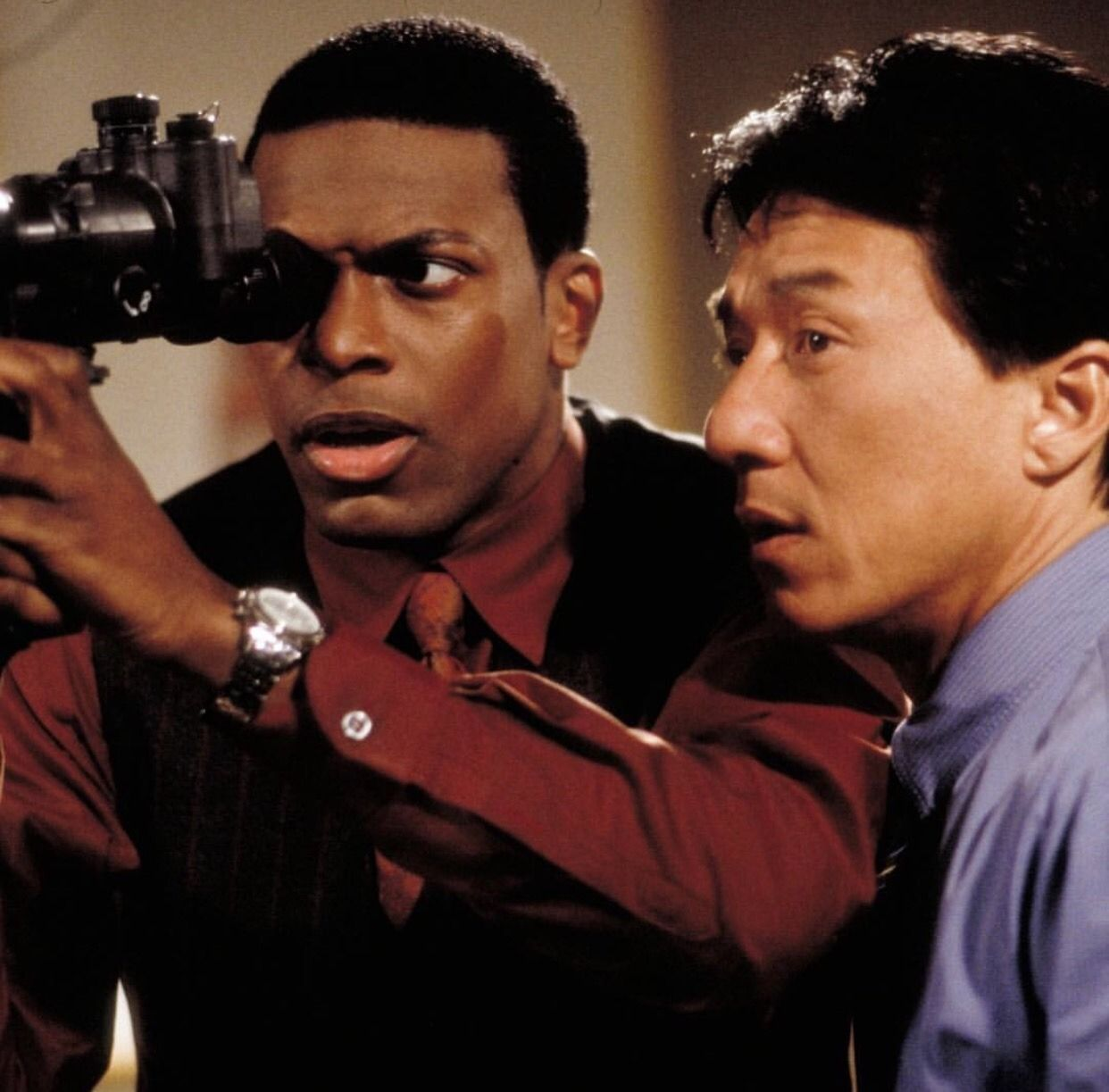Rush Hour Movie Chris Tucker Jackie Chan With Images Chris