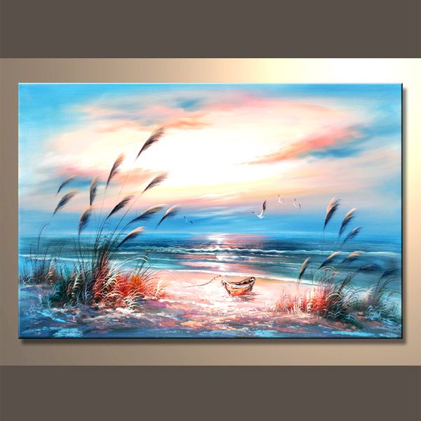 Resultado De Imagen Para Paisajes Artisticos Dibujados Ocean Painting Oil Painting Landscape Landscape Paintings