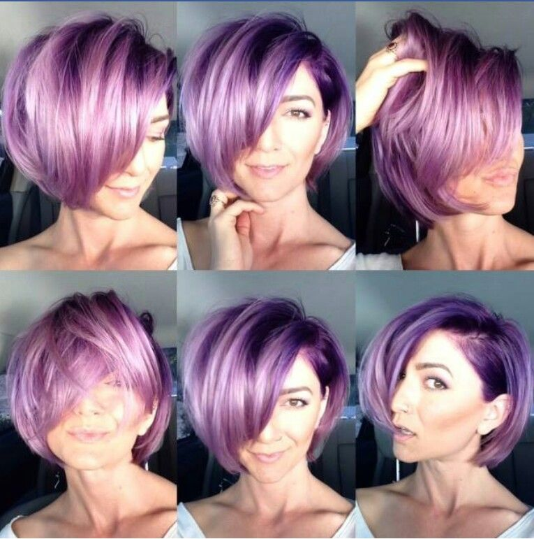 Spunky Fun Short Hair With An Awesome Color Job Hair Styles Short Hair Color Short Hair Styles