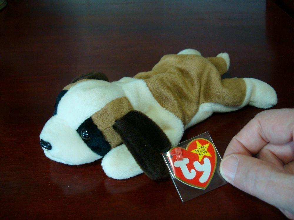 Ty Beanie Baby Bernie The Beagle Ty 39 99 Free Shipping