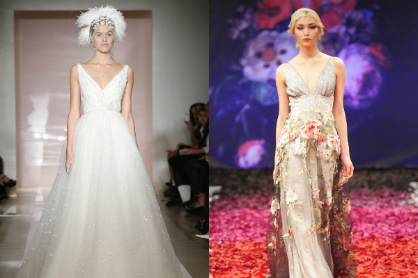 8 top trends from New York Bridal Week http://weddingjournalonline.com/8-top-trends-from-new-york-bridal-week/