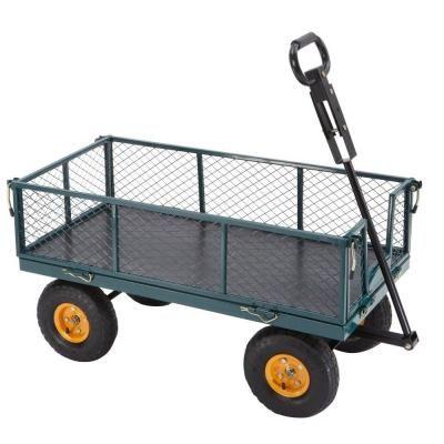 Steel Utility Cart SC100D2   The Home Depot. Yard CartUtility CartGardening  ...