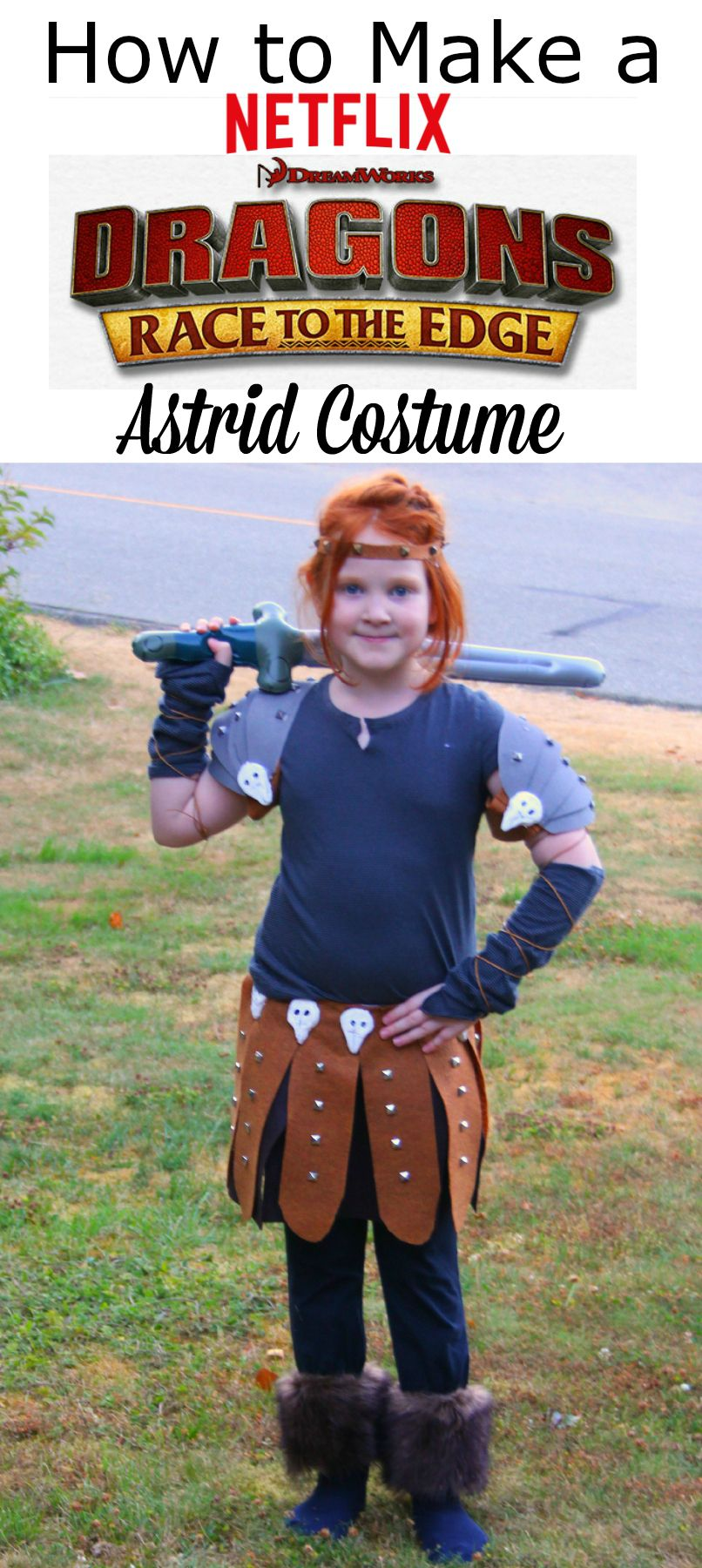 Astrid costume button how to train your dragon crafts pinterest how to make a dragons astrid costume ccuart Choice Image
