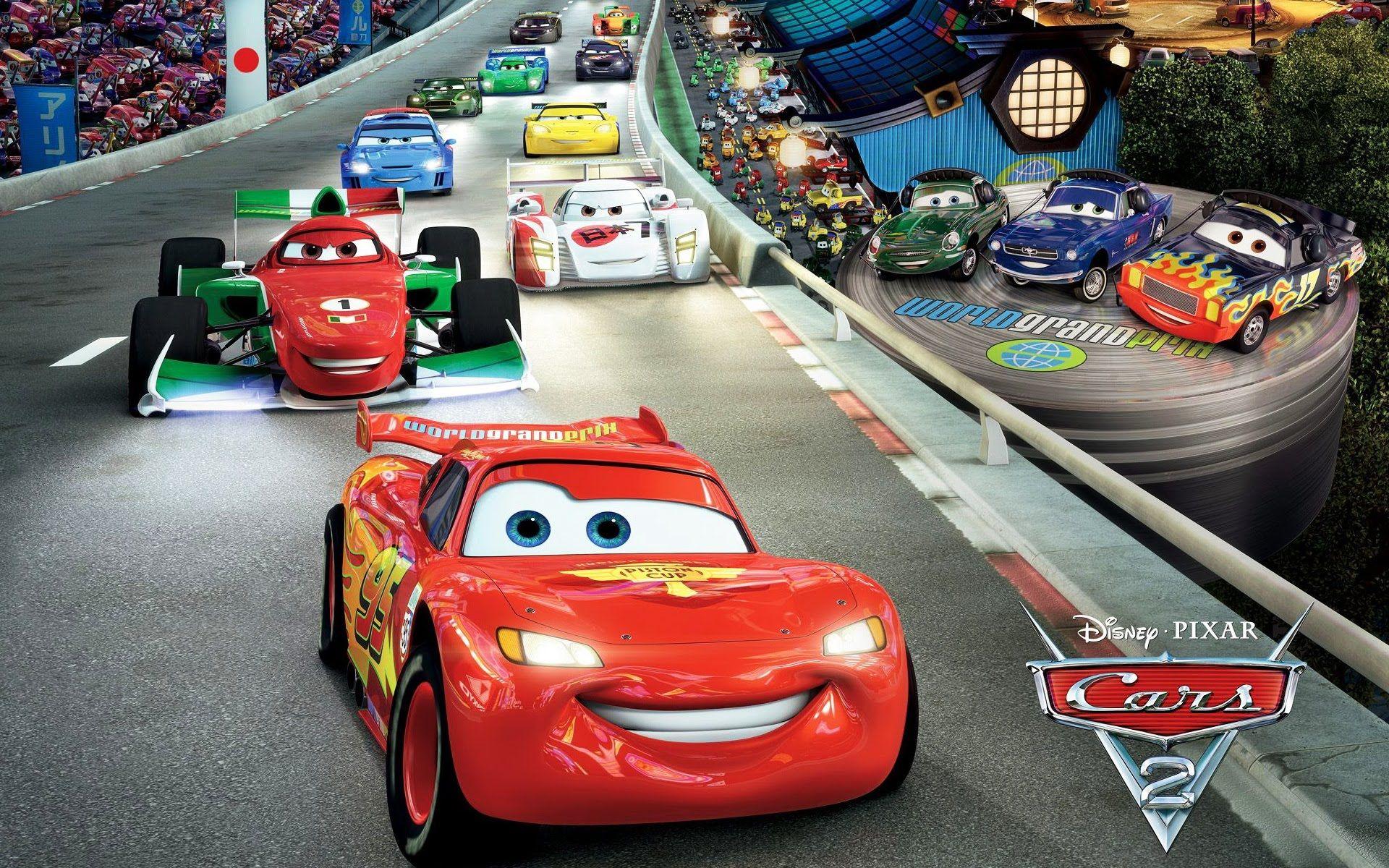 Cars silver racer poster 2 - Cars 2 Game Battle Race Lightning Mcqueen Cars 2 Game Full Movie