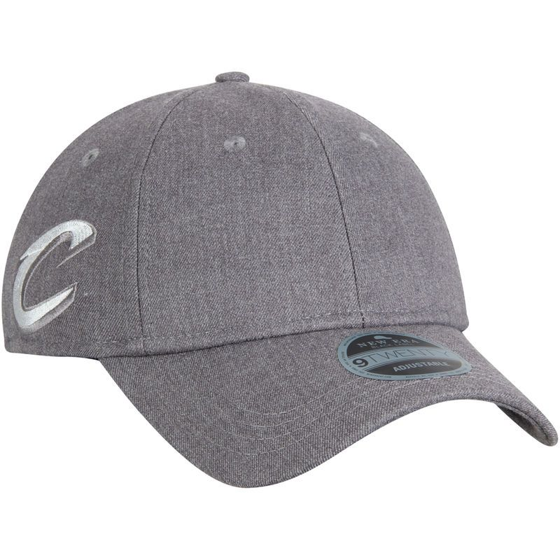 07502efd8ab Cleveland Cavaliers New Era Black Label Series Suiting 9TWENTY Adjustable  Hat – Gray