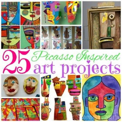 25 Picasso Inspired Art Projects For Kids | Artsy, For kids and ...